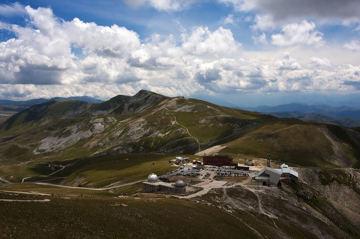 #GranSasso #Observatory #Astronomical #Landscape #Italy #Travel #Mountain #Apennine #Abruzzo