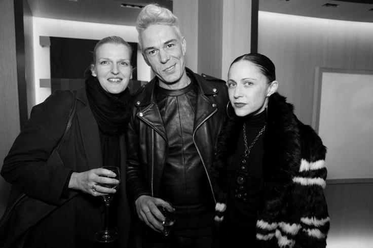 Pascal Humbert, Catherine Traoré et Tiffany Godoy