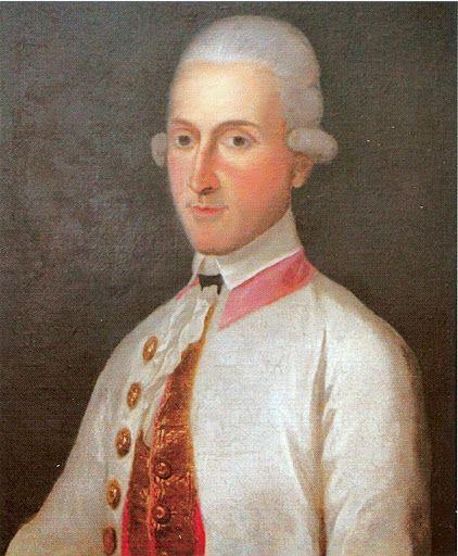 Draskovich János gróf nagymester / Count János Draskovich Grand Master