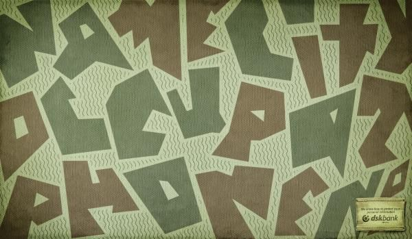 Camouflage, 3, DSK Bank, Noble Graphics Creative Studio, DSK Bank, Print, Outdoor, Ads