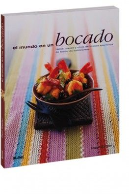 Una interesante recopilación de sabrosas recetas (calamares con chorizo y salsa verde, pastelillos de patata peruanos, salmón con especias a la bengalí, buñuelos de Stilton...) que se comen de un bocado.