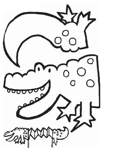 Accordion Dragon Craft With Template