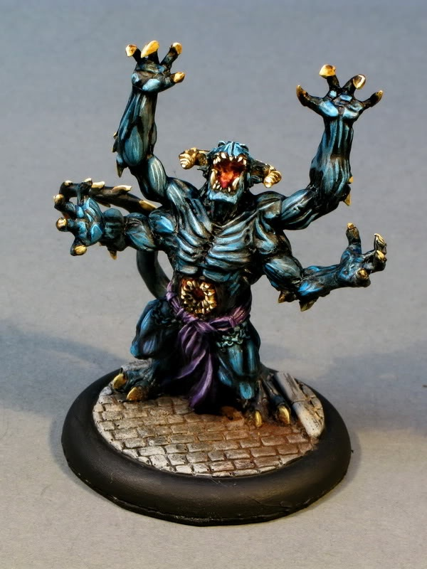 More lord chompy bits Miniatures, Style, Painting