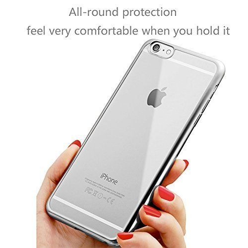 DN-TECHNOLOGY® Apple iPhone SE Case, (SPECIAL EDITION IPHONE CASE) Apple iPhone 5SE Case (4.0 Inch Screen 2016 Release) APPLE IPHONE SE CASE (SILVER) FLEXIBLE SILICON CASE WITH A METAL EFFECT EDGE VISUAL TRANSPARENCY CASE COVER DN-TECHNOLOGY® http://www.amazon.co.uk/dp/B01D3C6816/ref=cm_sw_r_pi_dp_q8o8wb1S7WA2R