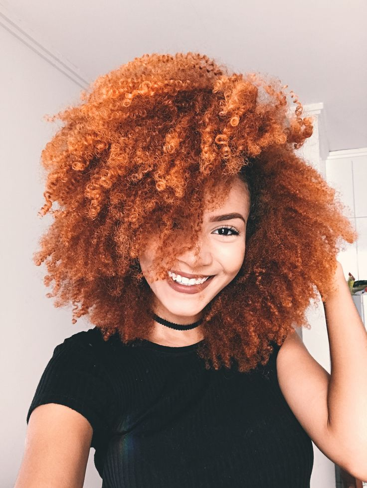Best 25+ Colored natural hair ideas on Pinterest | Red ...