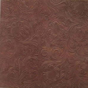 Tooled Leather Scrapbook Paper | Scrapbooking | Leather ...