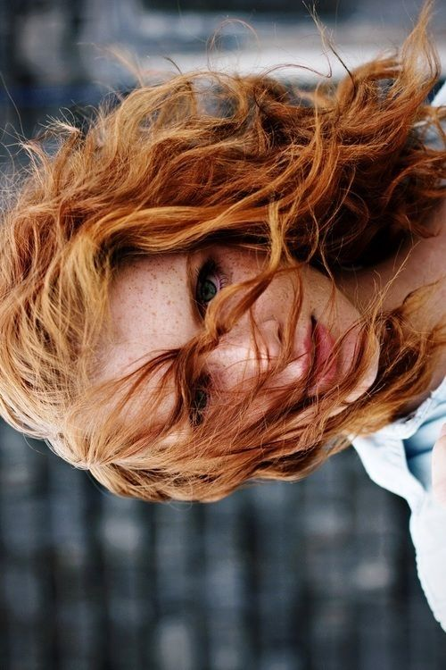because red hair and freckles are beautiful, and that's coming from someone with neither