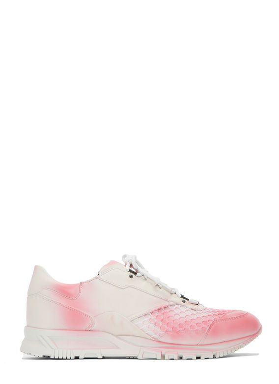 Men's Trainers - Shoes | Discover Now LN-CC - Spray-Painted Mesh Running Sneakers