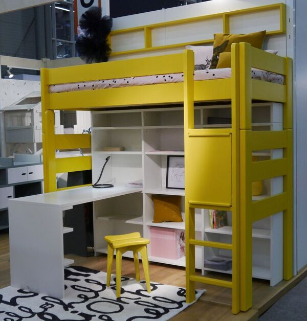Raised Bed   Bunk Bed   Mathy by Bols   With Desk. 141 best Modern kids bunk beds images on Pinterest   Kids bunk