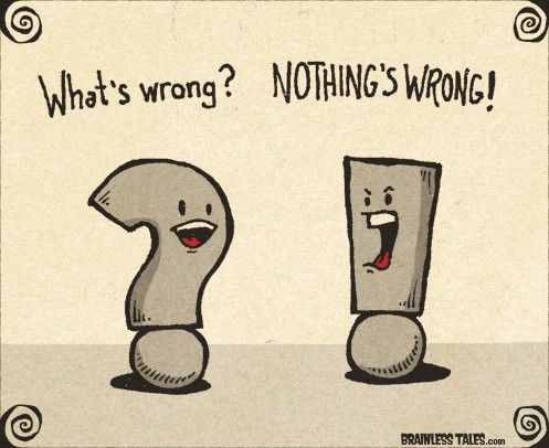 Question Marks and Exclamations