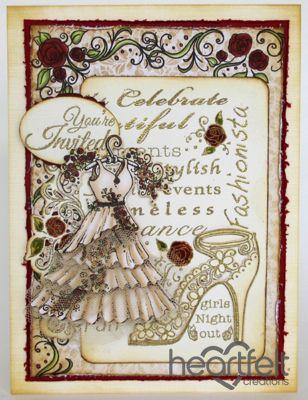Heartfelt Creations | Invitation Dress