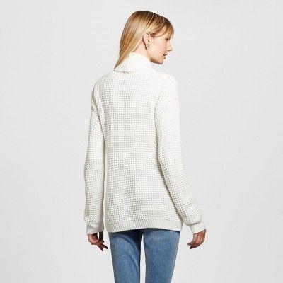 Women's Textured Open Layering Cardigan - Merona Sour Cream Xxl