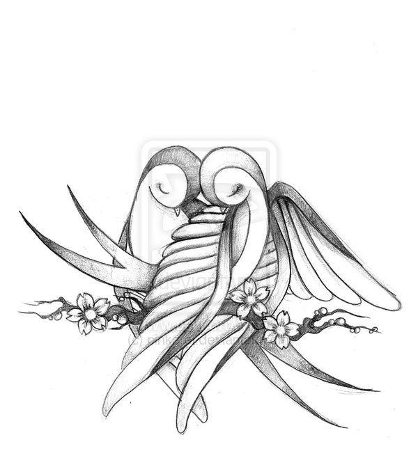 bird tattoo design drawing - Google Search