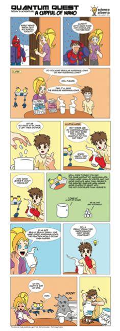Here's a comic strip about nanotechnology.