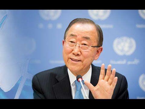 Ban Ki-moon's last public speech. Address at Southern Illinois University Carbondale
