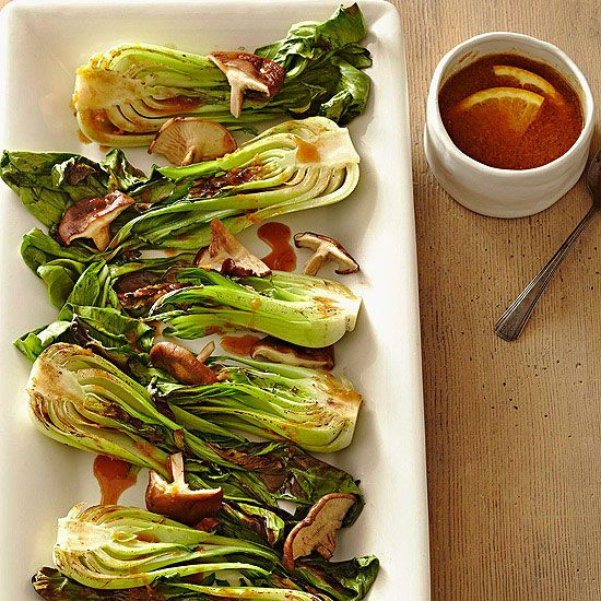 Makes Vegetables Taste Amazing Don't like vegetables? Drench them in sriracha. Problem solved! Plain broiled bok choy (a Chinese cabbage) turns into a full throttle side dish with just a drizzle of sriracha-infused miso sauce. Use it on otherwise modest vegetables and prepare to fall in love.