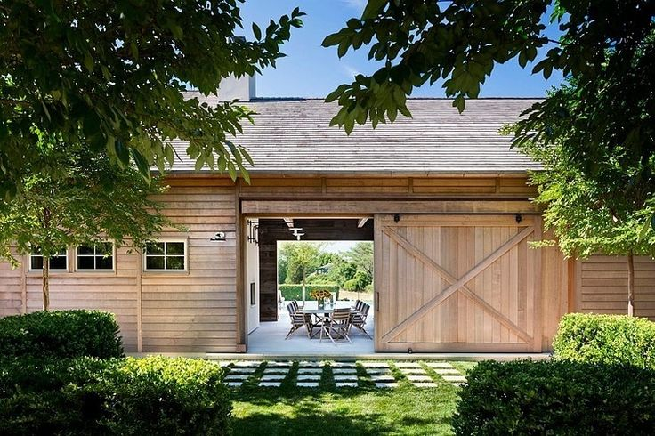 Hamptons Modern Barn by John Hummel