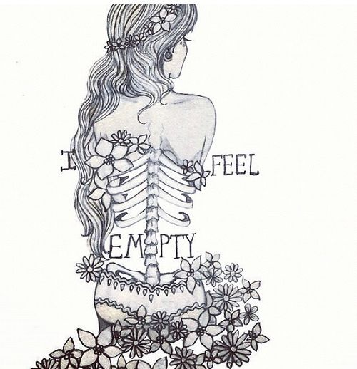 Sad Quotes About Depression: Girl Depression Drawing Tumblr