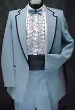 Image result for powder blue tux
