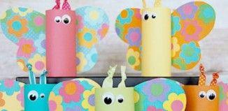 22 DIY Spring Crafts for Kids to Make