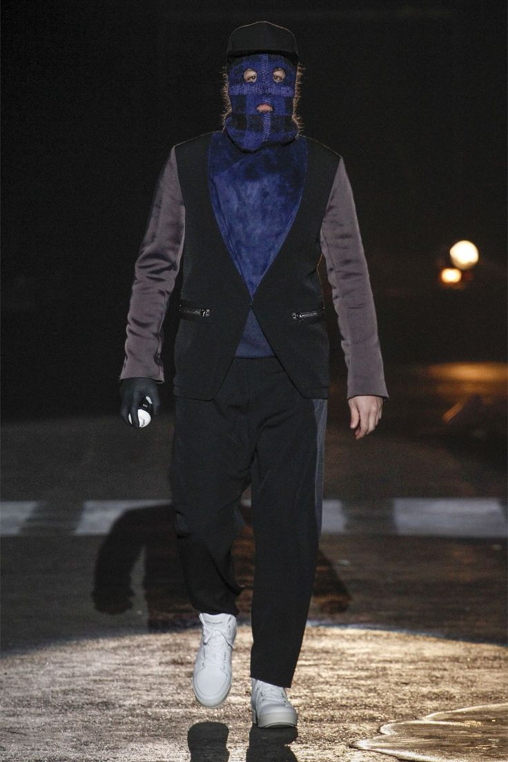 Umit Benan FW13 (Umit himself on the runway)