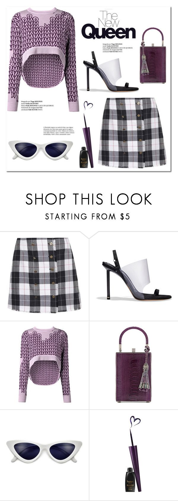 """The New Queen"" by fancy-chic ❤ liked on Polyvore featuring Thom Browne, Alexander Wang, Opening Ceremony and Jill Haber"