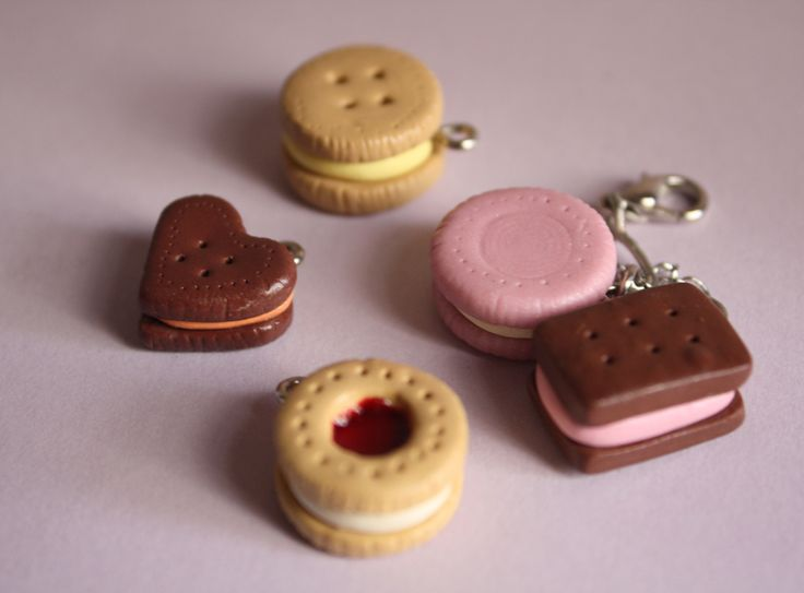 Polymer Clay Biscuits by breatheday.deviantart.com