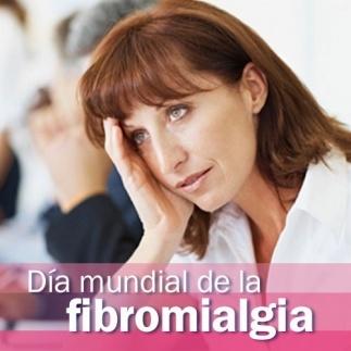 Mañana 12 de mayo se celebra el día mundial de la #fibromialgia.  La fibromialgia es una enfermedad en la que la persona afectada siente un dolor generalizado. Se caracteriza por presentar puntos dolorosos concretos, hasta 18, distribuidos por espalda, rodillas, costado y codos. A estos dolores constantes, se unen: dificultad para dormir, sensación de cansancio después del sueño, dolor abdominal y hormigueos en las manos.