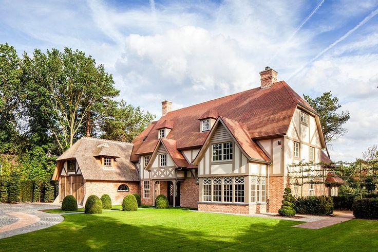 Architectenbureau Frank Gruwez - Villa cottage stijl Knokke - Hoog ■ Exclusieve woon- en tuin inspiratie.