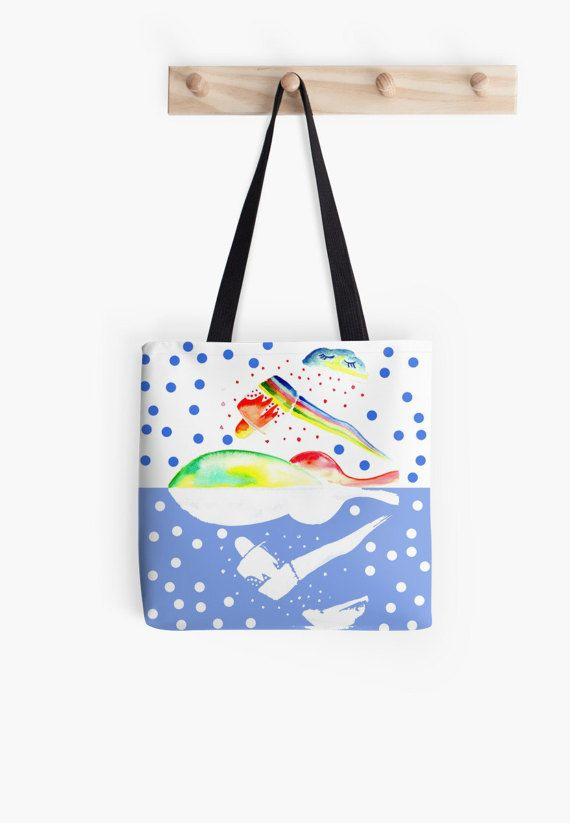 Sweet Rainbow Tote Bag