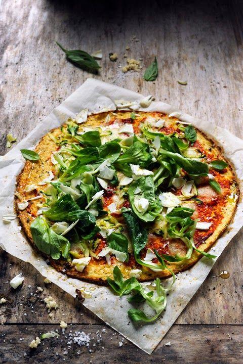 Dorian cuisine.com Mais pourquoi est-ce que je vous raconte ça... : L'aventure pizza continue ! Et si la pâte n'était plus vraiment une pâte ? Cauliflower et fresh pizza au menu !