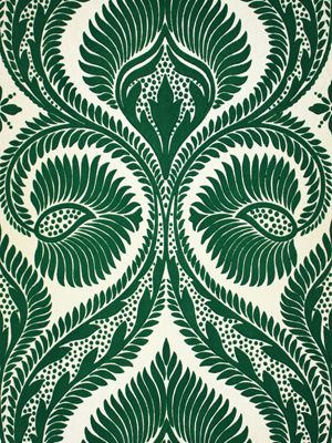 papier peint Osborne & Little vert #wallpaper #home #green #inspiration…