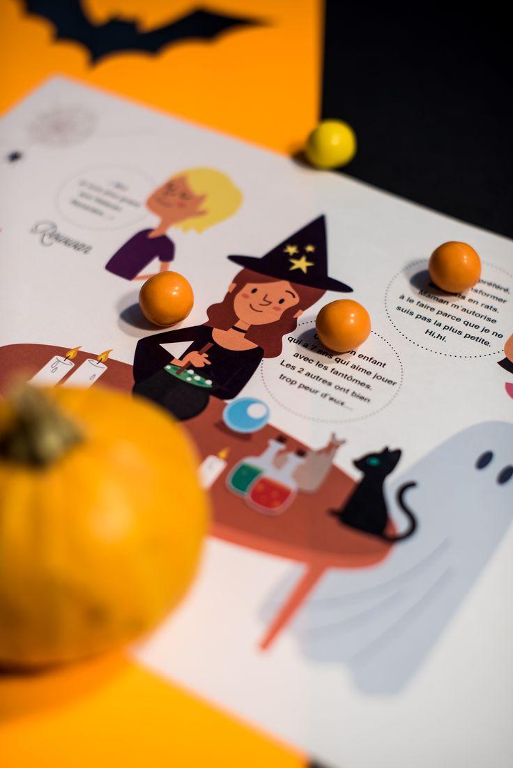 Enigme logique d'Halloween à télécharger gratuitement