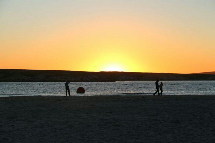 sunset @langebaan westcoast