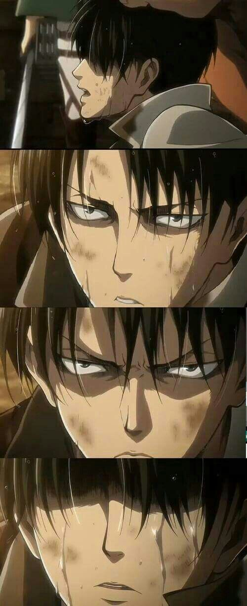 Why is Levi so fcking handsome even with dirt on his perfect face?