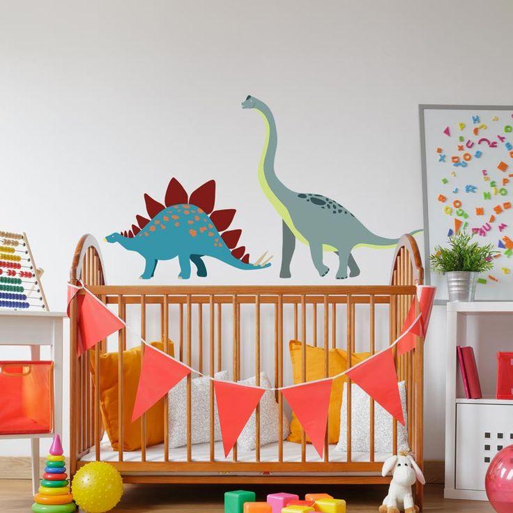 Nouveauté déco : Les stickers dinosaures
