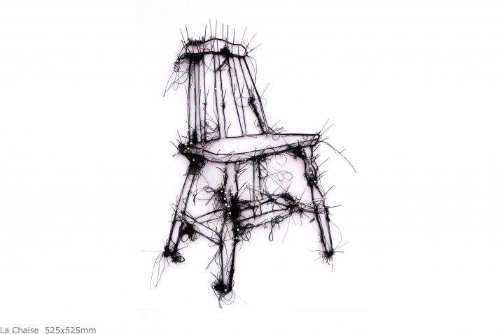 La Chaise  525x525mm