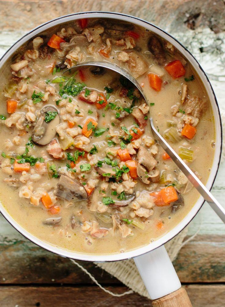 Recipe: Ina Garten's Wild Mushroom & Farro Soup — Recipes from The Kitchn