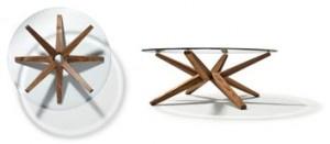 I tavolini da caffè TEAM 7 vestono il salotto di naturale eleganza