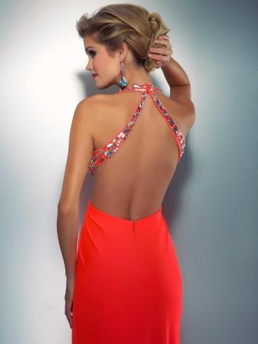 bbd9f7764 a-l31p9l-mujer-vestido-de-fiesta-2015-sin-cintura-tiras-anchas-cola-barriba- espalda-descubierta