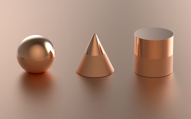© twelvemonthly Metallic paperweights. Different forms create different aesthetics.