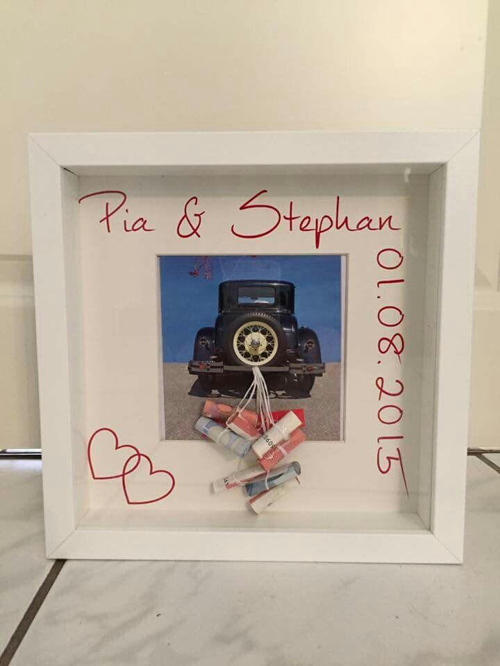 Hochzeitsgeschenk Geld kreativ verpacken: 71 DIY Hochzeitsgeschenke Ideen