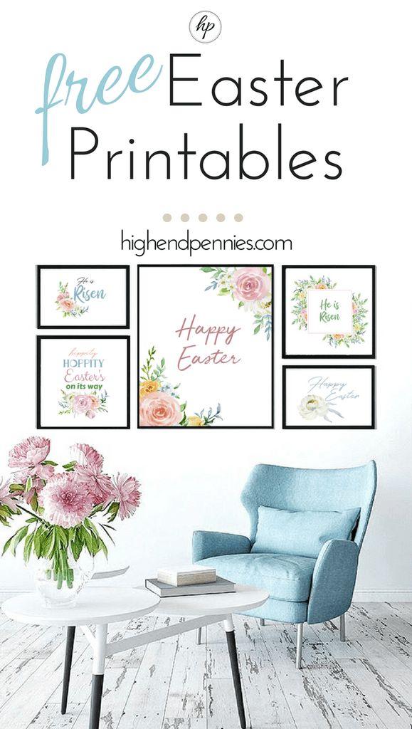FREE Easter Printables | HighEndPenniesHighEndPennies   – Easter cards 2017