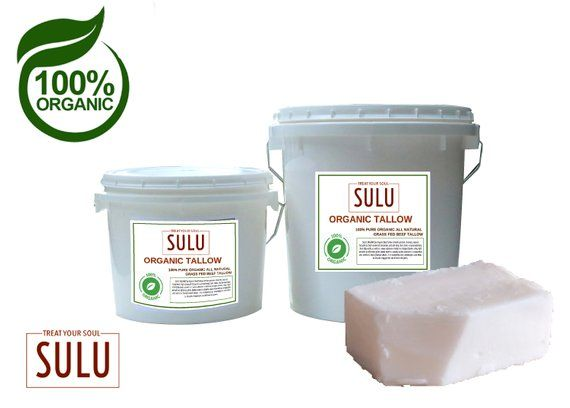 100 Pure Grass Fed Beef Tallow All Natural Etsy Grass Fed Beef Organic Grass Fed Beef Beef Tallow