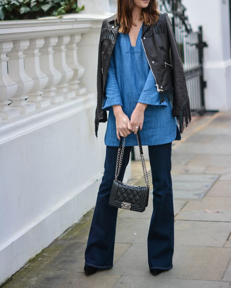 How To Wear Flared Jeans  Flared Jeans Trend 2016