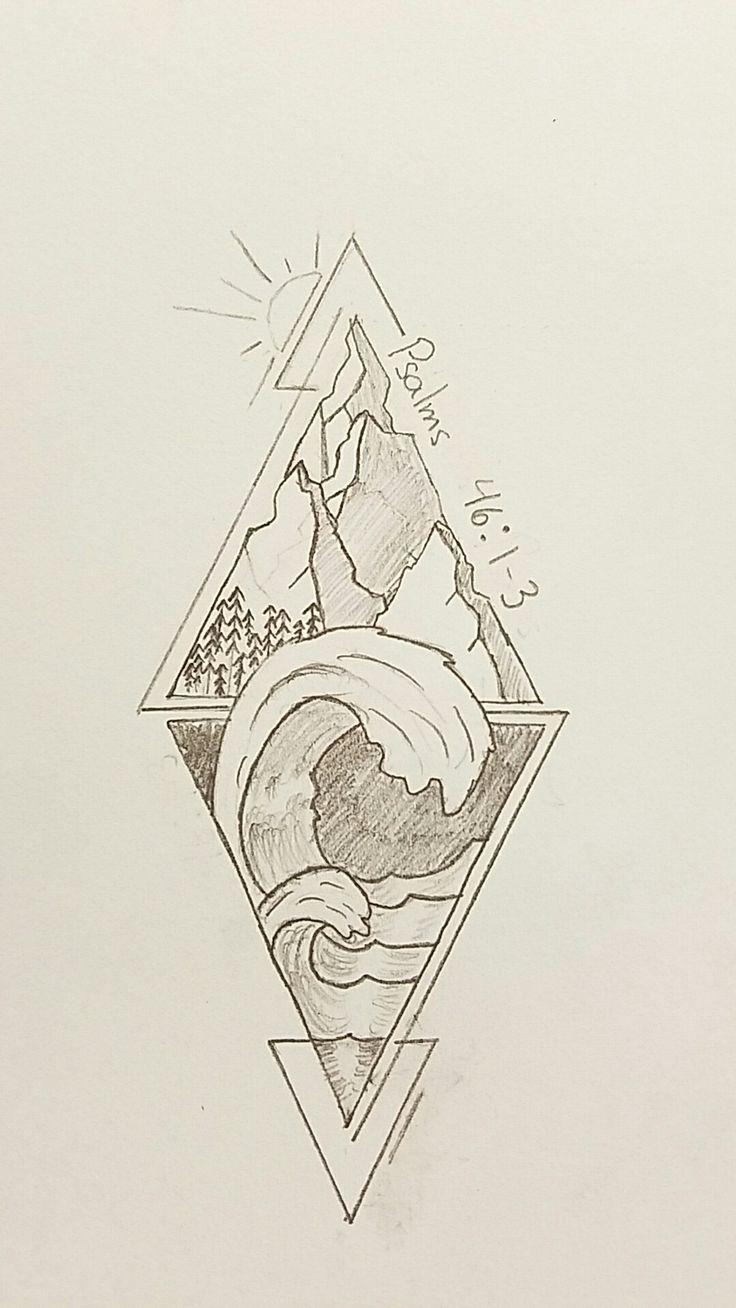 3d tatouage triangles galerie tatouage - Signification triangle tatouage ...