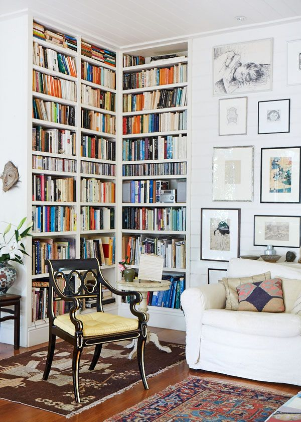 25 best ideas about library corner on pinterest reading for Ikea billy angolare