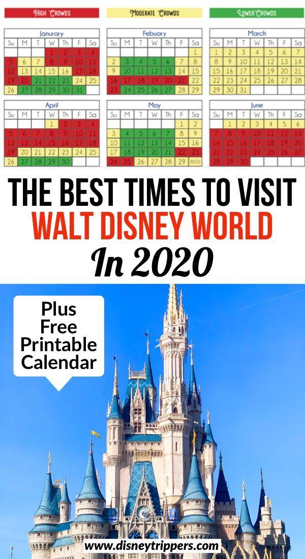 Disney World Crowd Calendar Best Time To Go To Disney With