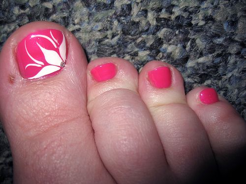 Pink Pedicure Designs | NA] Vive les pédicures ! - Le blog de mimies-nailart
