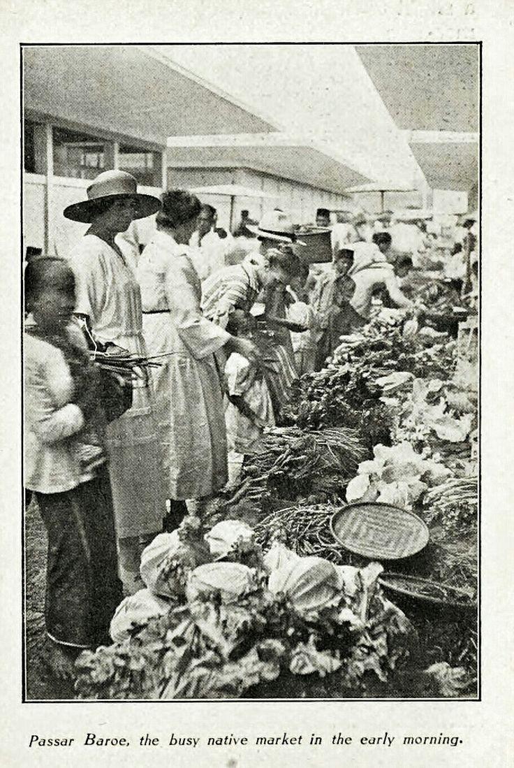 Pasar Baroe Bandoeng 1925-1929.